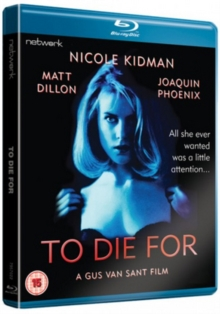 To Die For, Blu-ray  BluRay