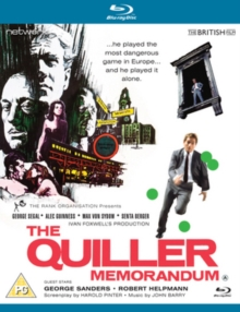 The Quiller Memorandum, Blu-ray BluRay