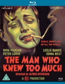 The Man Who Knew Too Much, Blu-ray BluRay