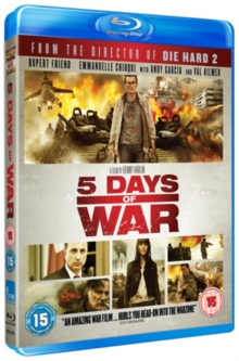5 Days of War, Blu-ray  BluRay