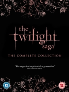 The Twilight Saga: The Complete Collection, Blu-ray BluRay