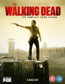 The Walking Dead: The Complete Third Season, DVD DVD