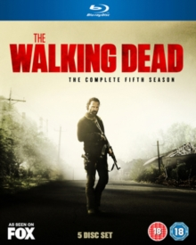 The Walking Dead: The Complete Fifth Season, Blu-ray BluRay