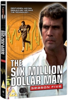 The Six Million Dollar Man: Series 5, DVD DVD
