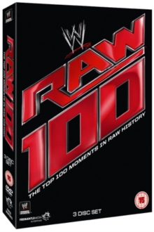 WWE: Raw - The Top 100 Moments in Raw History, DVD  DVD