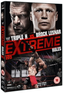 WWE: Extreme Rules 2013, DVD  DVD