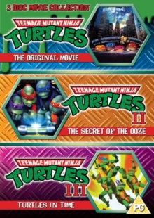 Teenage Mutant Ninja Turtles: The Movie Collection, DVD  DVD