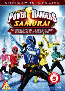 Power Rangers Samurai: Christmas Together, Friends Forever, DVD  DVD