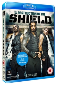 WWE: The Destruction of the Shield, Blu-ray  BluRay