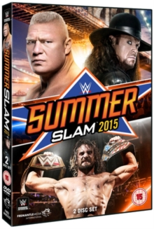 WWE: Summerslam 2015, DVD  DVD