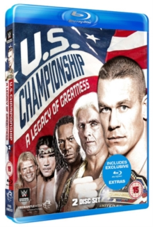 WWE: United States Championship - A Legacy of Greatness, Blu-ray BluRay