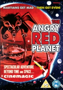 The Angry Red Planet, DVD DVD