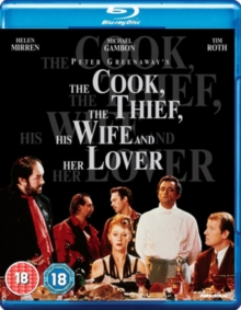 The Cook, the Thief, His Wife and Her Lover, Blu-ray BluRay