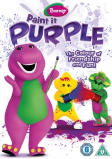 Barney: Paint It Purple, DVD  DVD