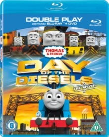 Thomas & Friends: Day of the Diesels - The Movie, Blu-ray BluRay