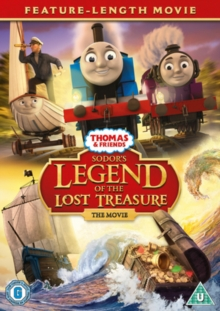 Thomas & Friends: Sodor's Legend of the Lost Treasure - The Movie, DVD DVD