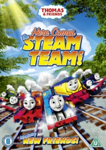 Thomas & Friends: Here Comes the Steam Team, DVD DVD