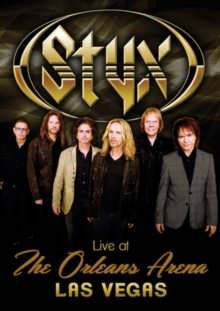 Styx: Live at the Orleans Arena, DVD DVD