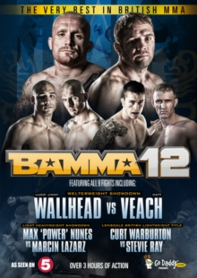 The Very Best in British MMA: BAMMA 12, DVD DVD