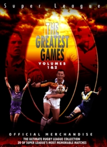 Super League: The Greatest Games - Volumes 1 and 2, DVD  DVD