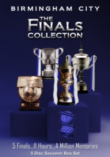 Birmingham City FC: The Finals Collection, DVD  DVD