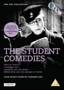 Yasujirô Ozu: The Student Comedies, DVD  DVD
