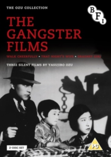 Yasujirô Ozu: The Gangster Films, DVD  DVD