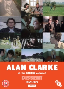 Alan Clarke at the BBC: Volume 1 - Dissent 1969-1977, DVD DVD