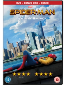 Spider-Man - Homecoming, DVD DVD