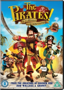 The Pirates! In an Adventure With Scientists, DVD DVD
