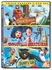 Cloudy With a Chance of Meatballs/Open Season/Surf's Up, DVD  DVD
