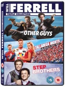 The Other Guys/Step Brothers/Talladega Nights, DVD DVD