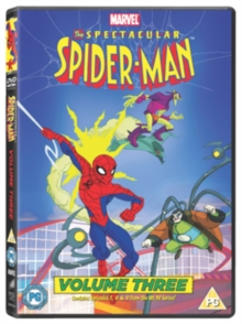 The Spectacular Spider-Man: Volume 3, DVD DVD