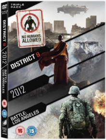2012/Battle: Los Angeles/District 9, DVD  DVD