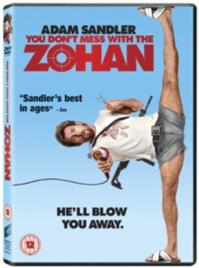 You Don't Mess With the Zohan, DVD  DVD