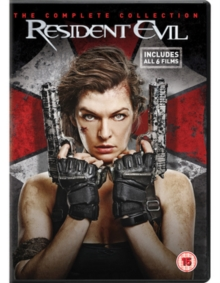 Resident Evil: The Complete Collection, DVD DVD