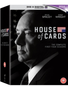 House of Cards: Seasons 1-4, DVD DVD