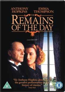 The Remains of the Day, DVD DVD