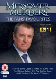 Midsomer Murders: The Fans' Favourites, DVD  DVD
