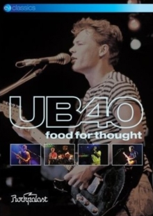 UB40: Food for Thought, DVD DVD