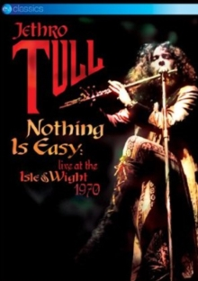 Jethro Tull: Nothing Is Easy - Live at the Isle of Wight 1970, DVD DVD
