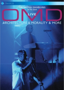 OMD: Live - Architecture and Morality and More, DVD DVD