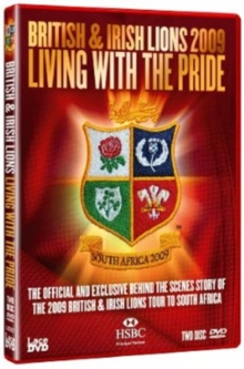 Lions 2009 - Living With the Pride, DVD  DVD
