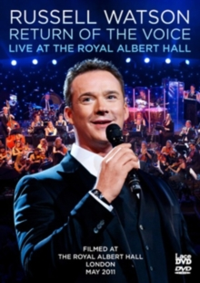 Russell Watson: Return of the Voice - Live at the Royal Albert..., DVD  DVD