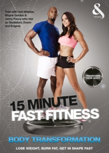 15 Minute Fast Fitness: Body Transformation, DVD  DVD