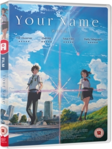 Your Name, DVD DVD