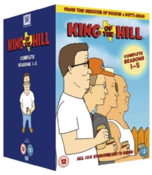 King of the Hill: Complete Seasons 1-5, DVD DVD