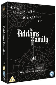 The Addams Family: The Complete Seasons 1-3, DVD DVD
