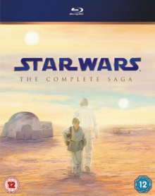 Star Wars: The Complete Saga, Blu-ray  BluRay