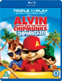 Alvin and the Chipmunks: Chipwrecked, Blu-ray  BluRay